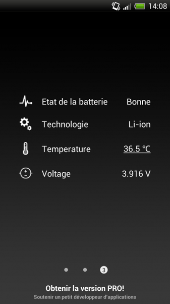 batterie HD android