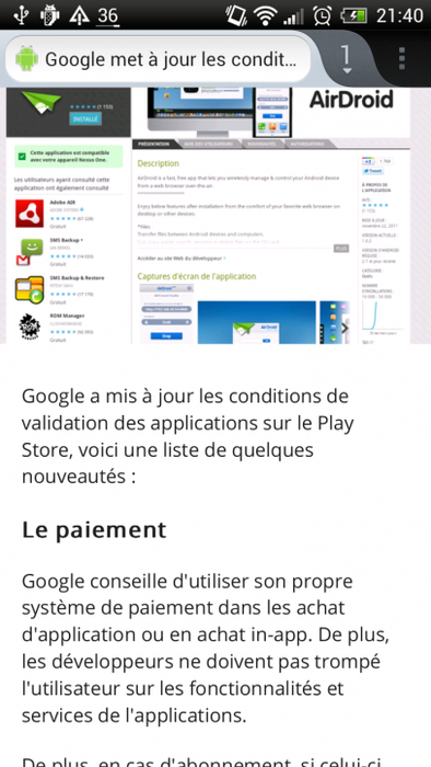 firefox android application
