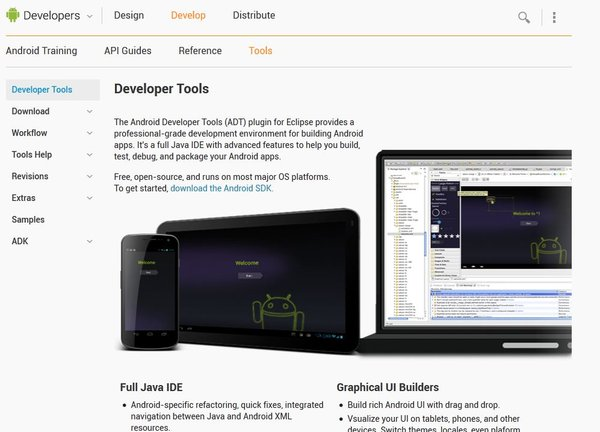 outils android developer com