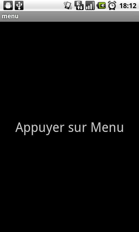 appli menu