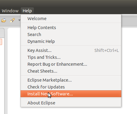 install new software eclipse