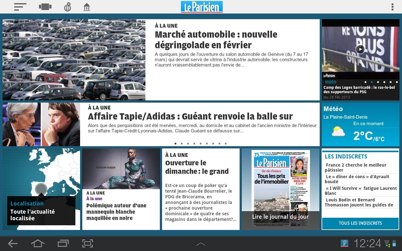 le parisien android