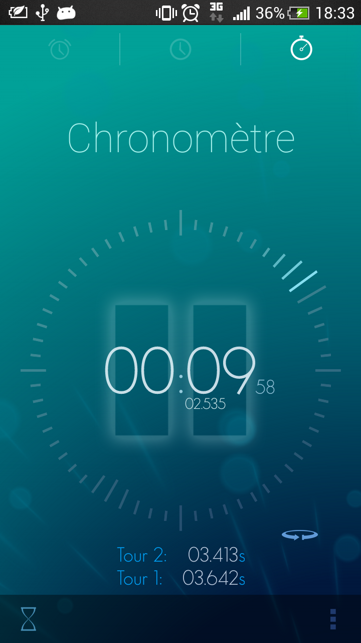 chronometre android