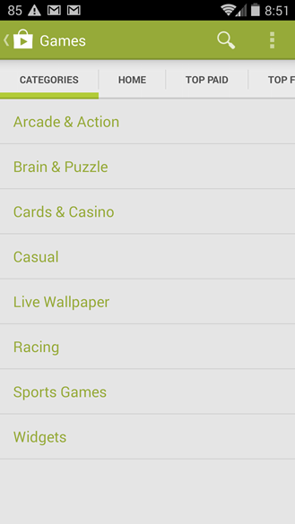 google play jeux android