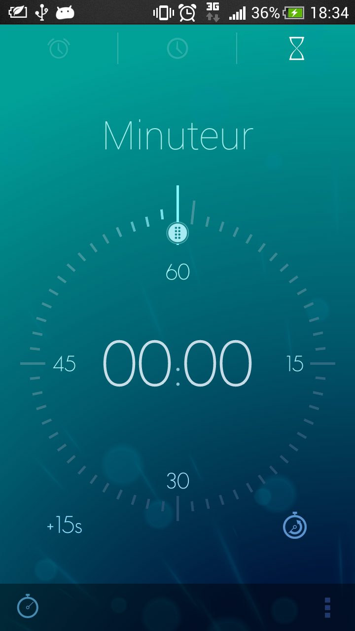 minuteur android