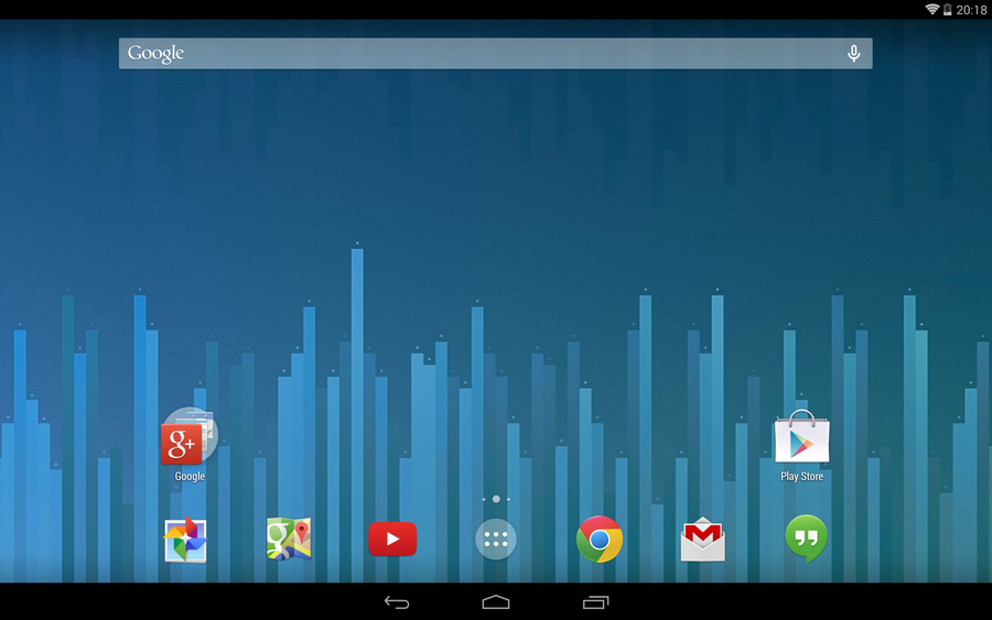google now launcher home