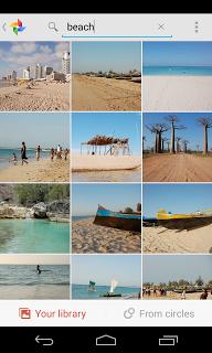 recherche google+ photos