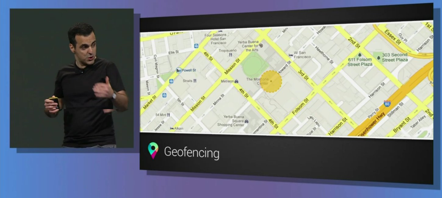 api google map geofencing android