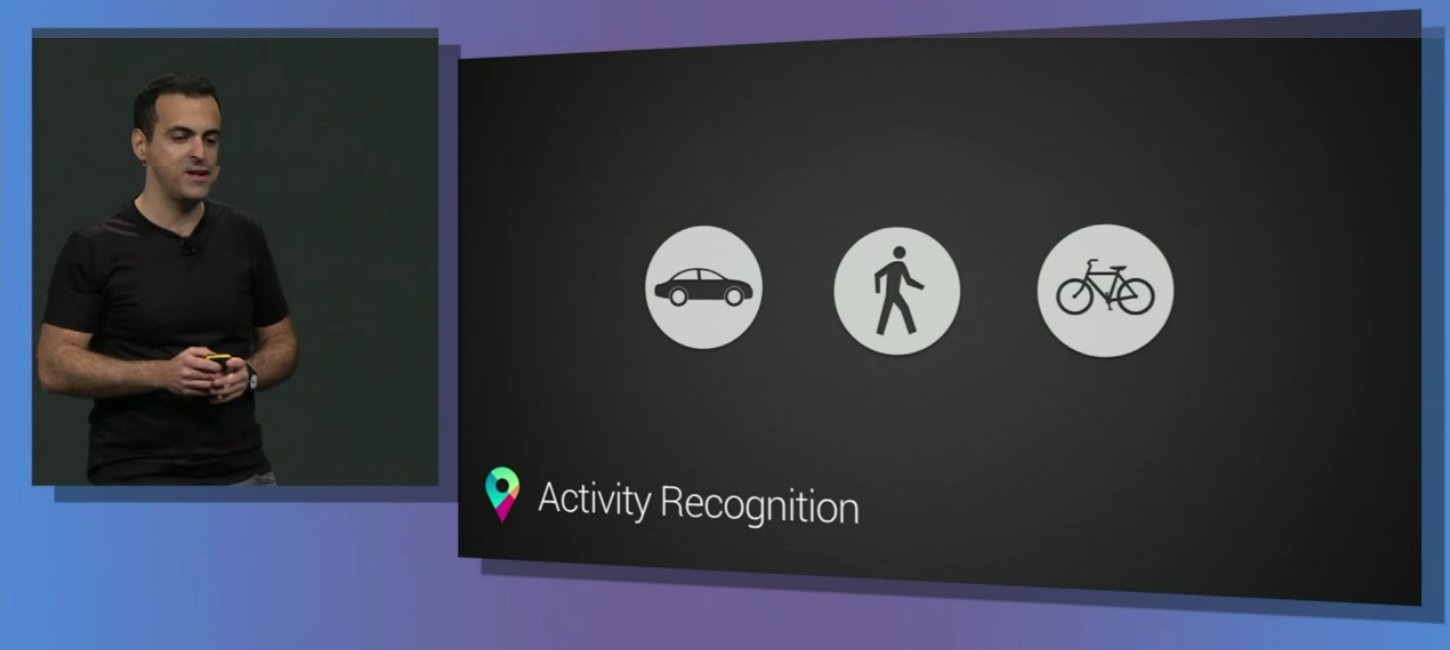api google map actiivity recognition