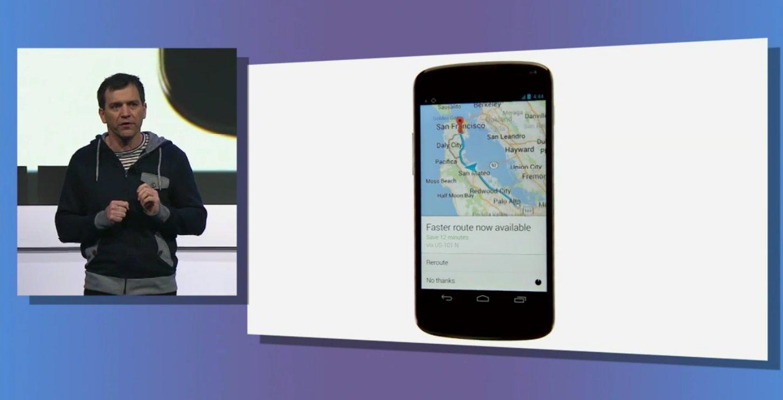 google navifgation recalcul itineraire