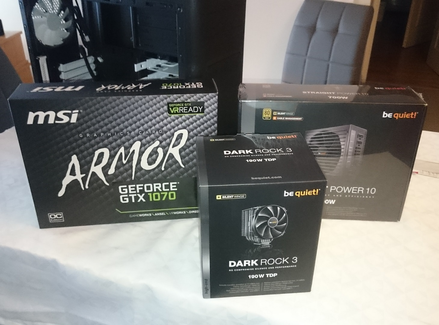 msi armor gtx 1070 dark rock 3
