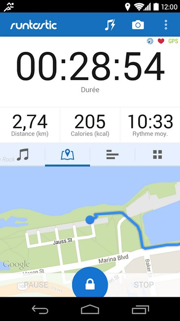 runtastic circuit
