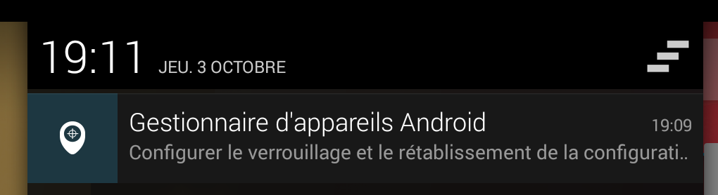 notification android